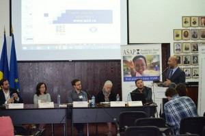 Alexandru Ciorobea, Doina Doroftei, Andrei Poama, Leslie Hawke, Gratian Mihailescu, Ciprian Necula @ Romanian Diplomatic Institute